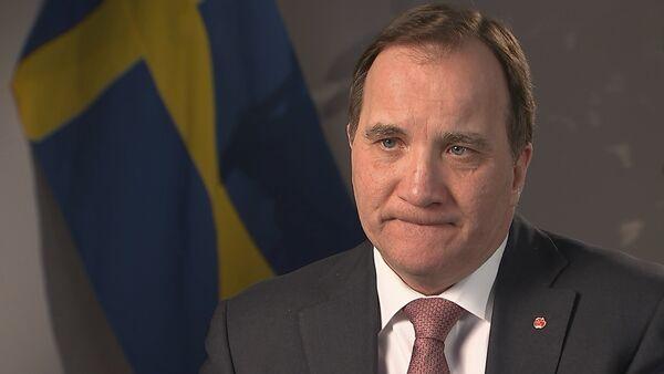 Stefan Löfven, primer ministro de Suecia - Sputnik Mundo