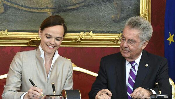 Sonja Hammerschmid, ministra de Educación de Austria - Sputnik Mundo