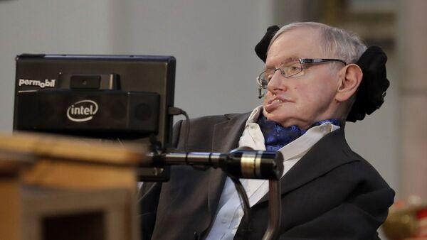 Stephen Hawking, físico británico  - Sputnik Mundo