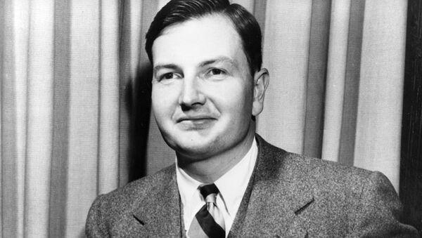 David Rockefeller, multimillonario norteamericano (archivo) - Sputnik Mundo