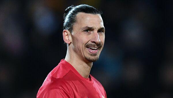 Zlatan Ibrahimovic, jugador sueco de fútbol - Sputnik Mundo