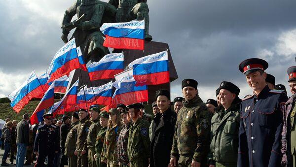 Празднование Дня воссоединения Крыма с Россией - Sputnik Mundo