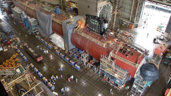 The nuclear powered attack submarine Virginia - Sputnik Mundo