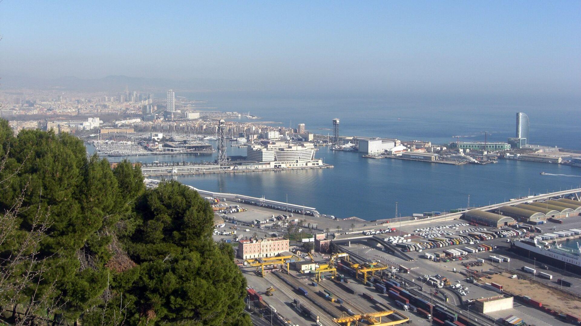 Puerto de Barcelona - Sputnik Mundo, 1920, 26.05.2021