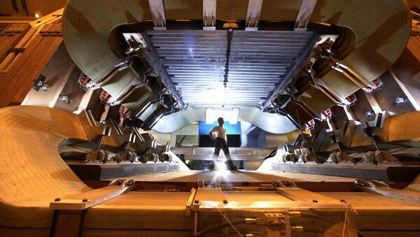 Detector LHCb del Gran Colisionador de Hadrones, 5 de septiembre de 2008 - Sputnik Mundo