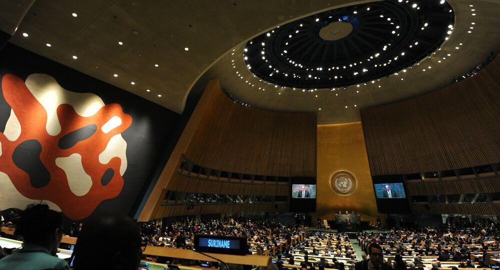 La Asamblea General de la ONU (archivo)