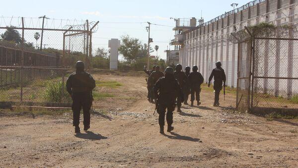 Policía mexicana en Culiacán - Sputnik Mundo