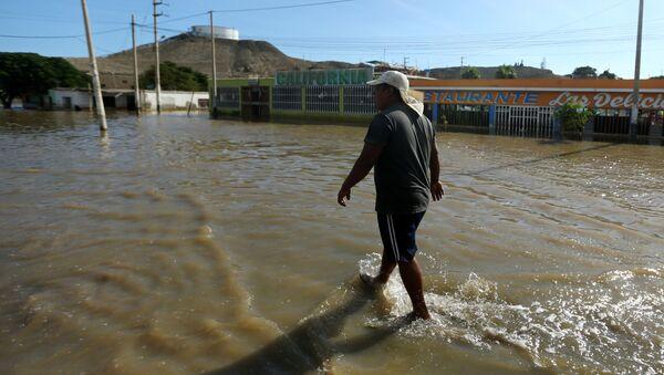 Inundaciones en Perú - Sputnik Mundo