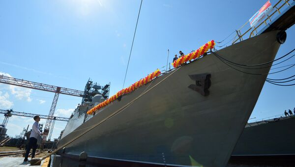 Fragata rusa del proyecto Guepard 3.9 - Sputnik Mundo