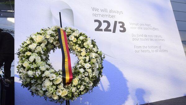 Bruselas rinde homenaje a las víctimas de los atentados - Sputnik Mundo