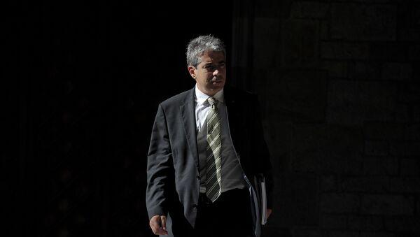 Catalonian government spokesman Francesc Homs - Sputnik Mundo