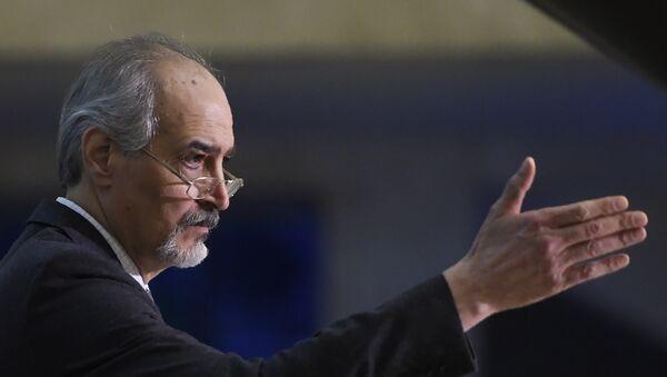 Bashar Jaafari, jefe de la delegación de Damasco - Sputnik Mundo