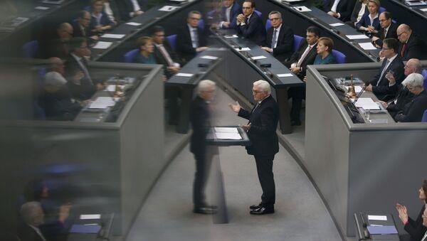 Frank-Walter Steinmeier asume como nuevo presidente de Alemania - Sputnik Mundo