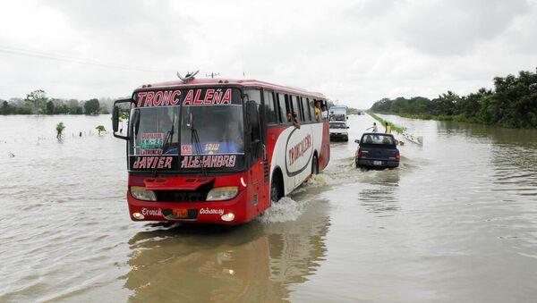 Inundaciones en Ecuador - Sputnik Mundo