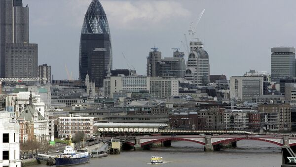 Rascacielos El Pepinillo, Londres - Sputnik Mundo