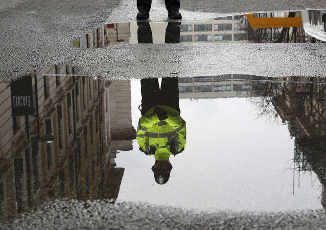 Un policía de Londres