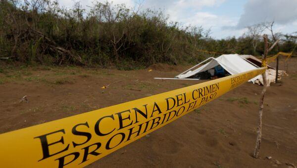 Lugar donde fueron halladas las narcofosas, Veracruz - Sputnik Mundo