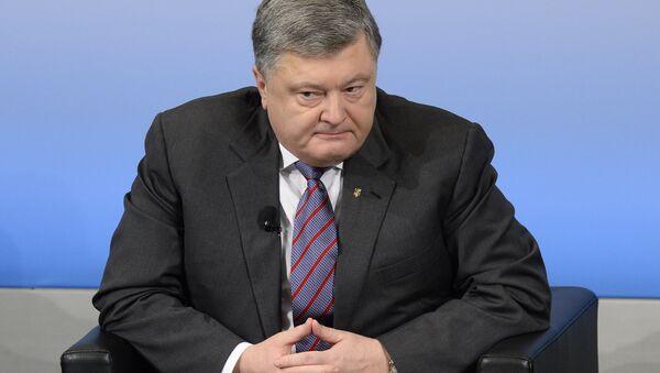 Petró Poroshenko - Sputnik Mundo