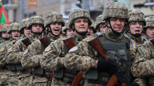 Los soldados de las Fuerzas Armadas de Ucrania (archivo) - Sputnik Mundo