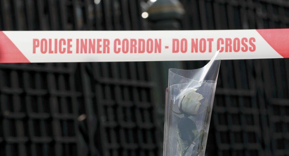 Lugar del atentado terrorista en Londres (archivo)