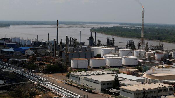 Refinería de petróleo en Colombia (archivo) - Sputnik Mundo
