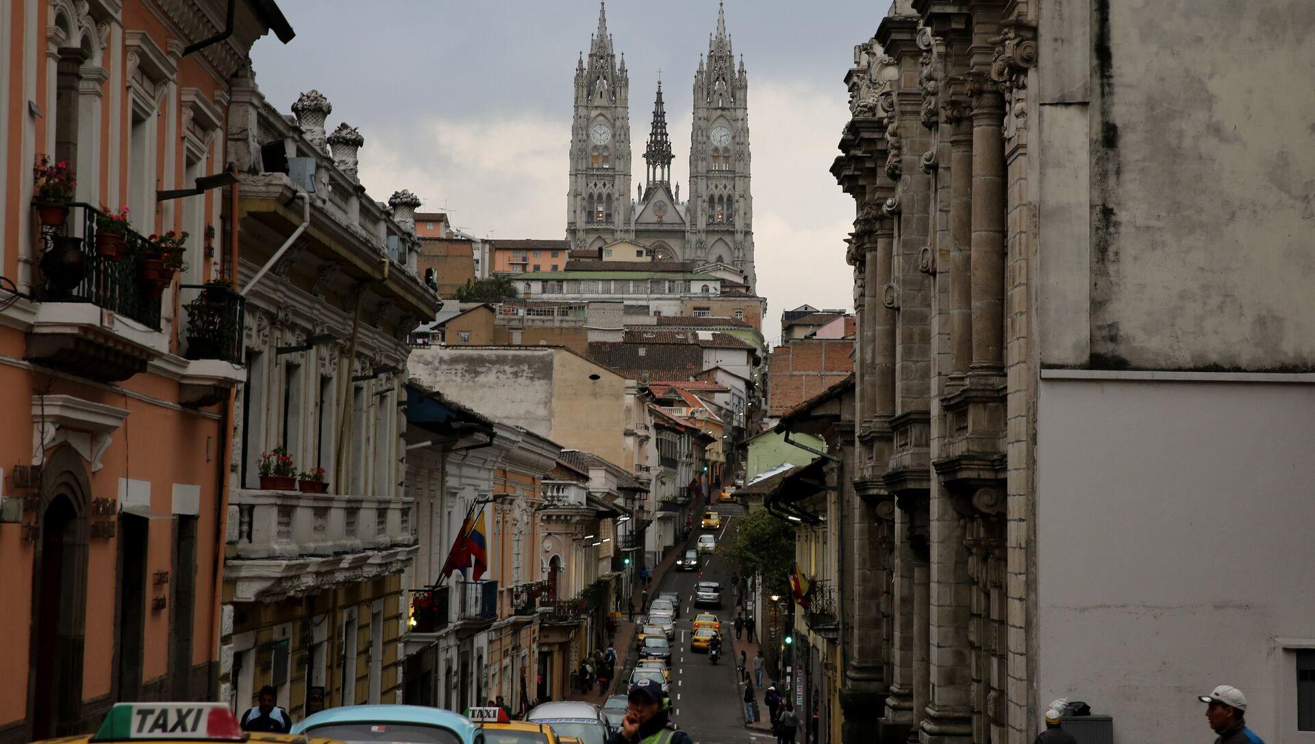 Quito, la capital de Ecuador - Sputnik Mundo, 1920, 03.02.2021