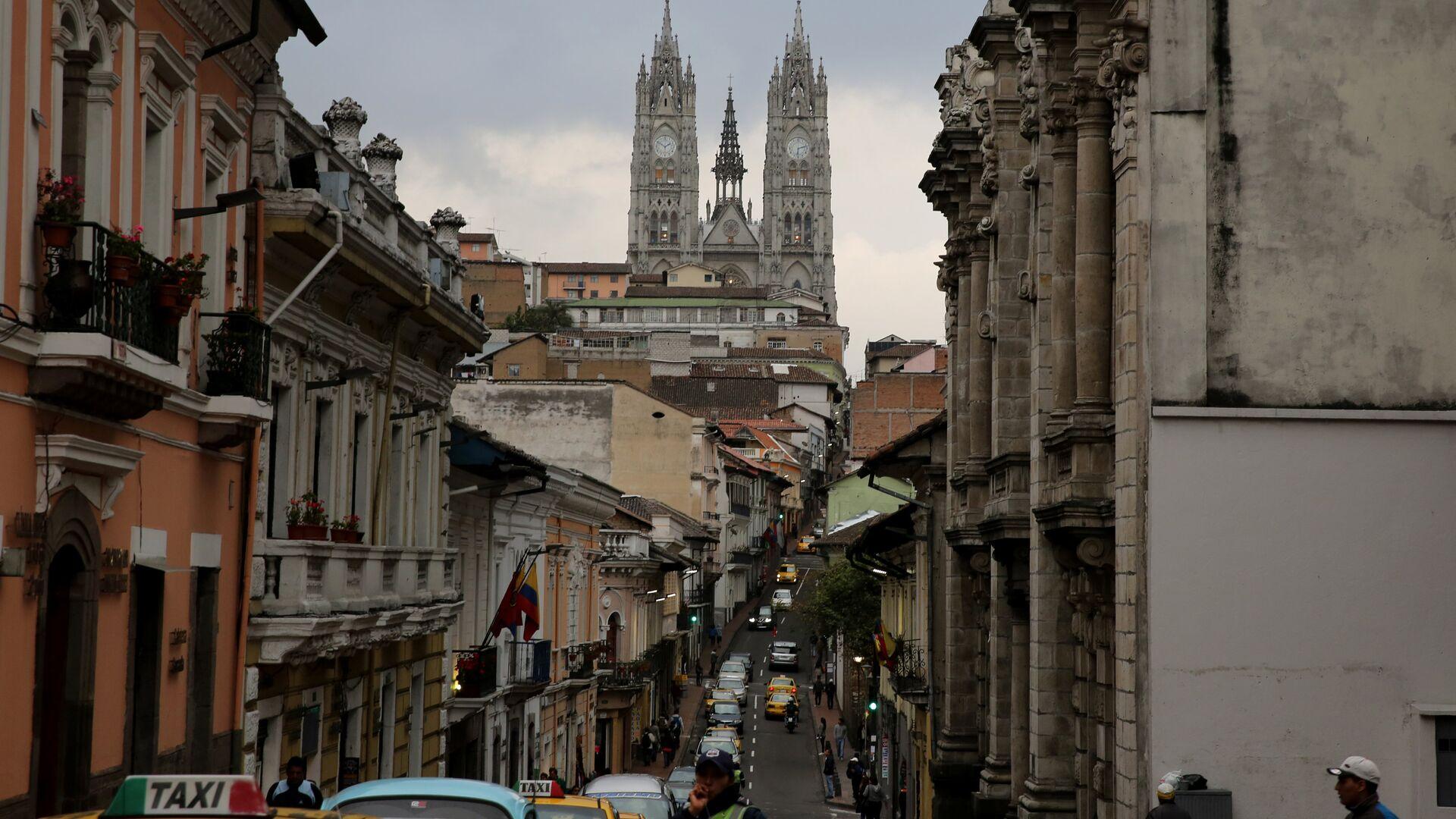 Quito, la capital de Ecuador - Sputnik Mundo, 1920, 23.04.2021