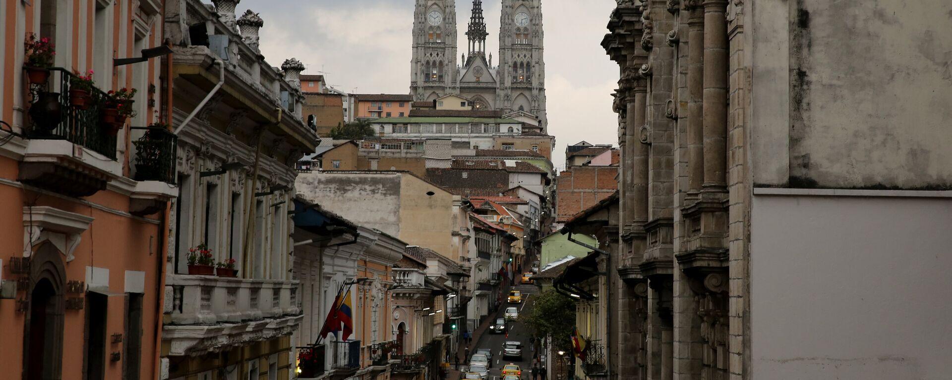 Quito, la capital de Ecuador - Sputnik Mundo, 1920, 16.12.2020