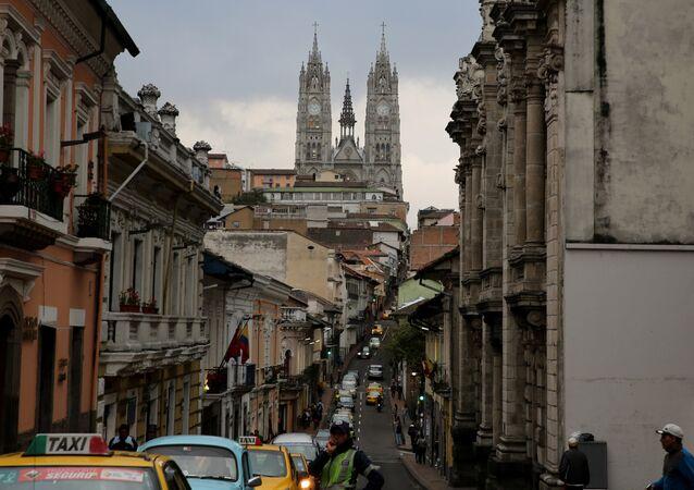 Quito, la capital de Ecuador