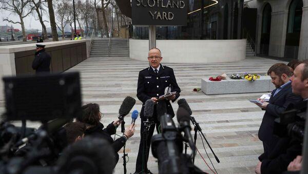 Mark Rowley, jefe de la unidad antiterrorista de Scotland Yard - Sputnik Mundo