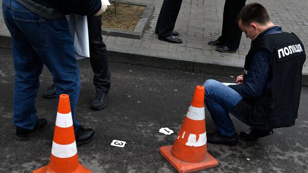 Lugar del asesinato de Denís Voronénkov, exdiputado ruso - Sputnik Mundo