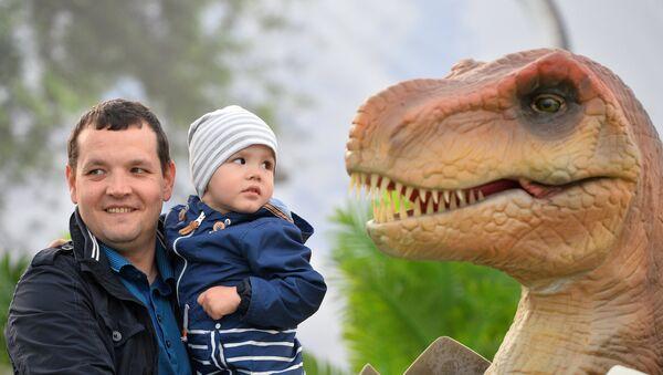 Dinosaurio en Kazán - Sputnik Mundo