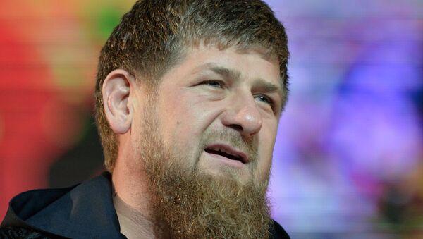 Ramzán Kadírov - Sputnik Mundo
