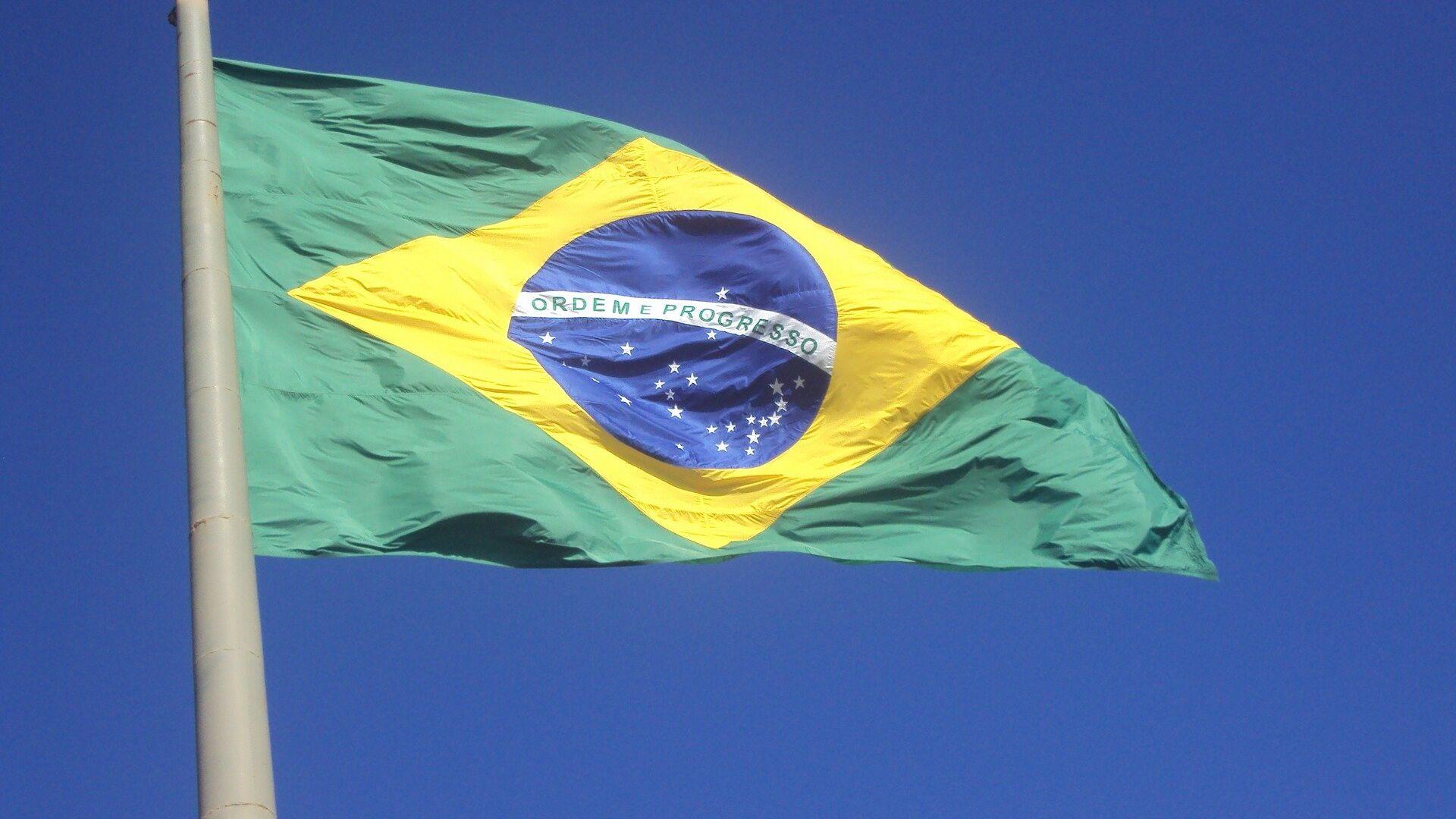 Bandera de Brasil - Sputnik Mundo, 1920, 08.07.2021