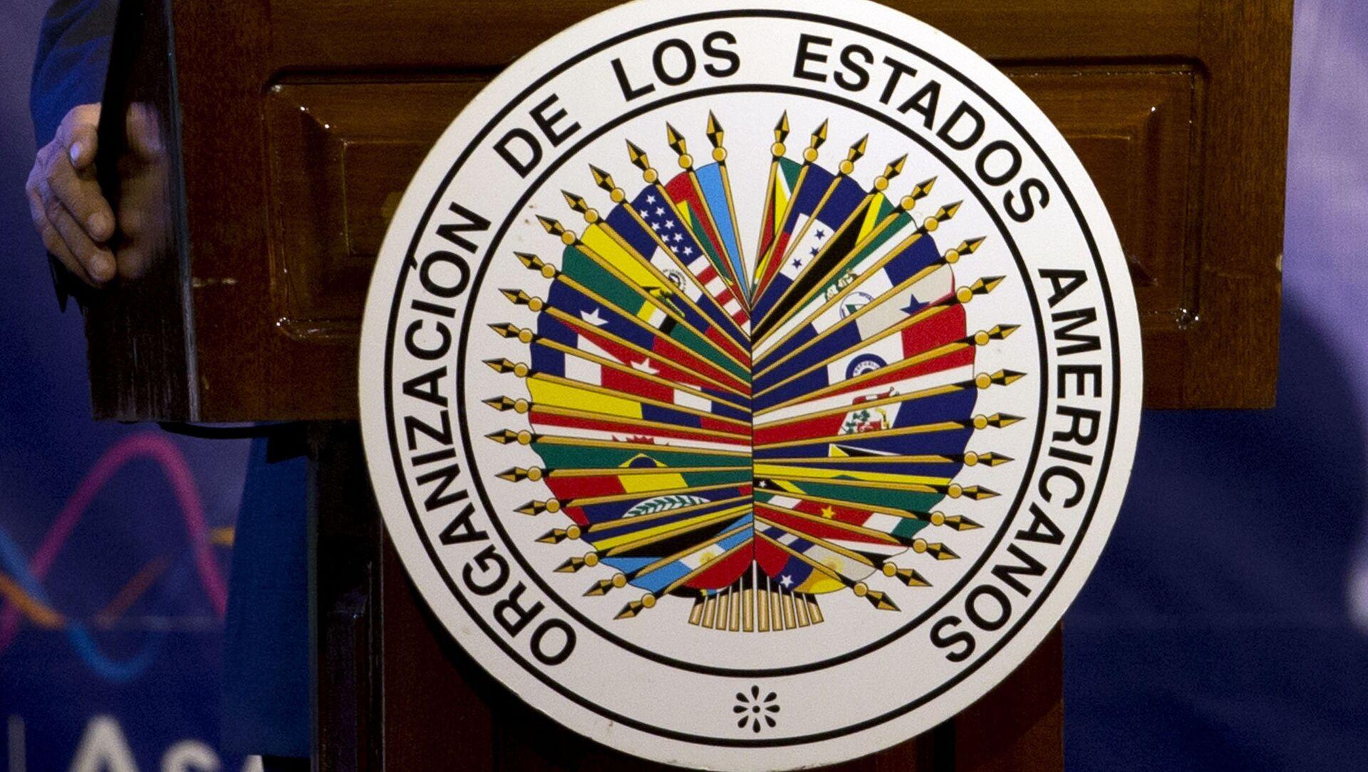 Logo de OEA - Sputnik Mundo, 1920, 02.02.2021