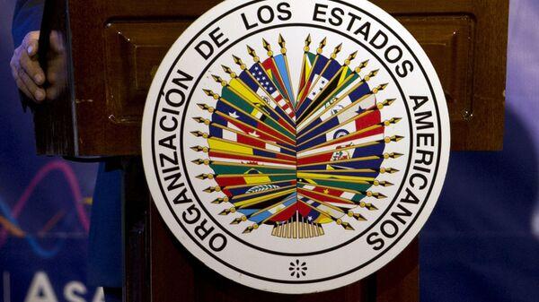 Logo de OEA (archivo) - Sputnik Mundo