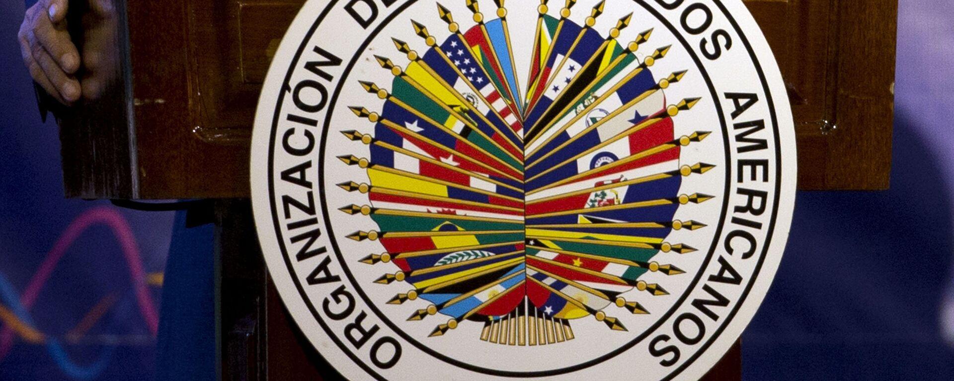 Logo de OEA - Sputnik Mundo, 1920, 04.06.2021