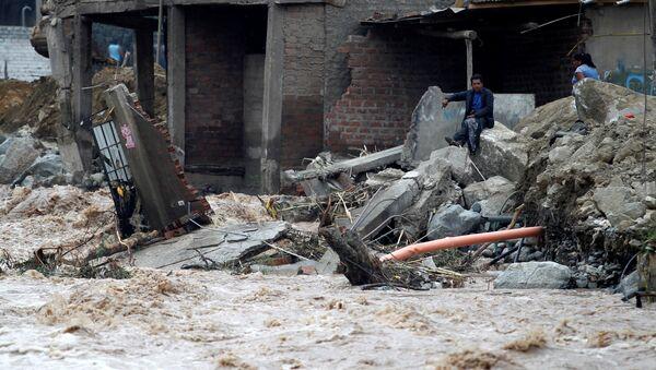 Inundación en Perú - Sputnik Mundo