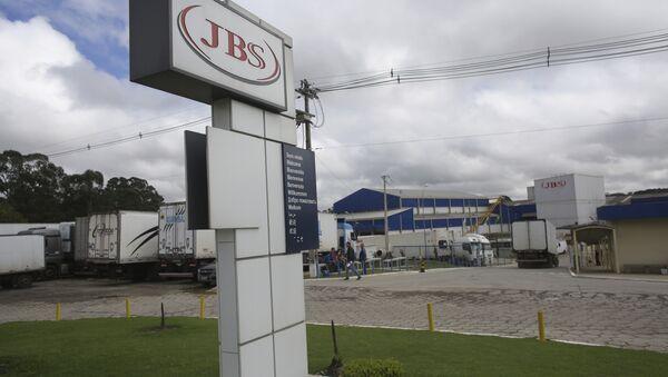 Empresa brasileña JBS - Sputnik Mundo