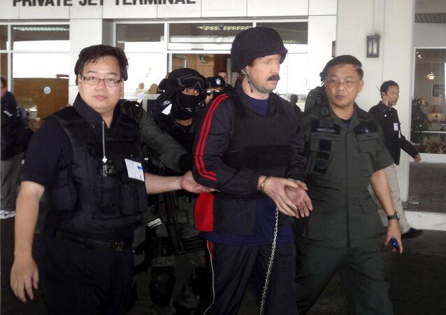 Víctor Bout, empresario ruso que cumple una condena de 25 años en EEUU (archivo)