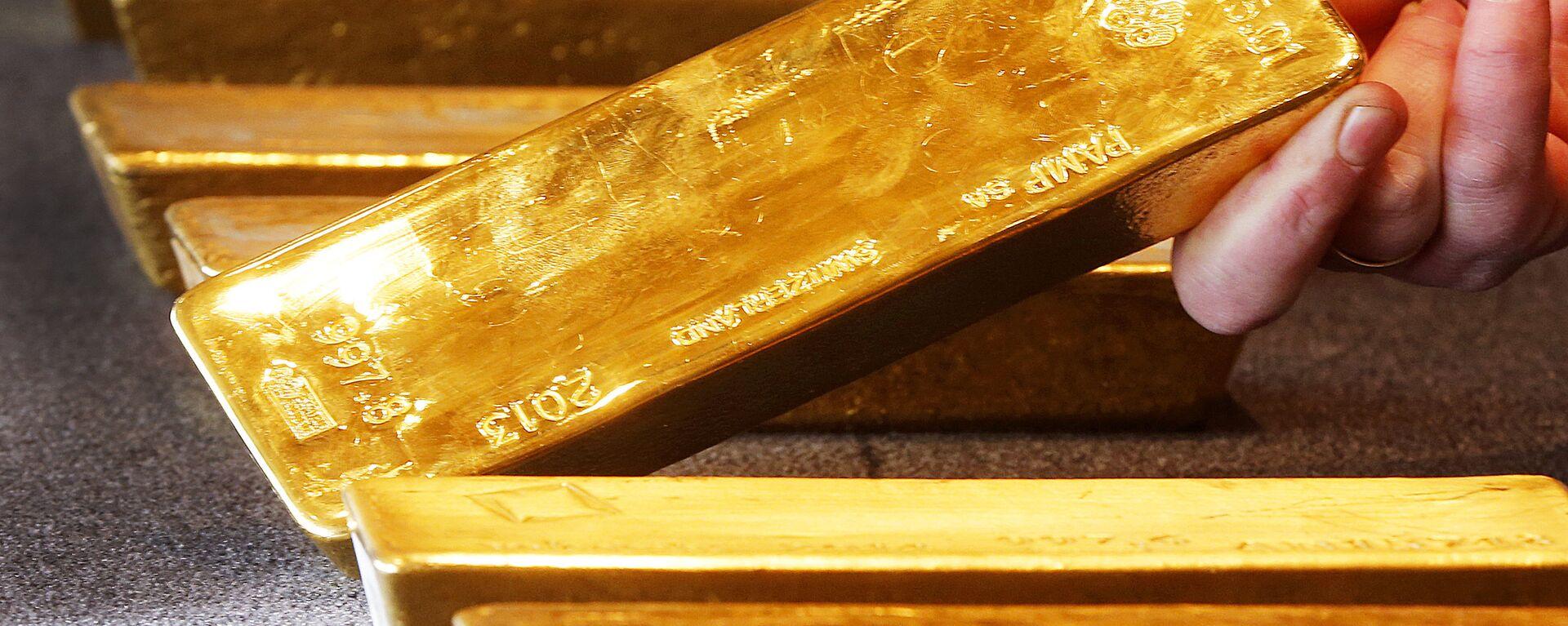Lingotes de oro - Sputnik Mundo, 1920, 24.05.2021