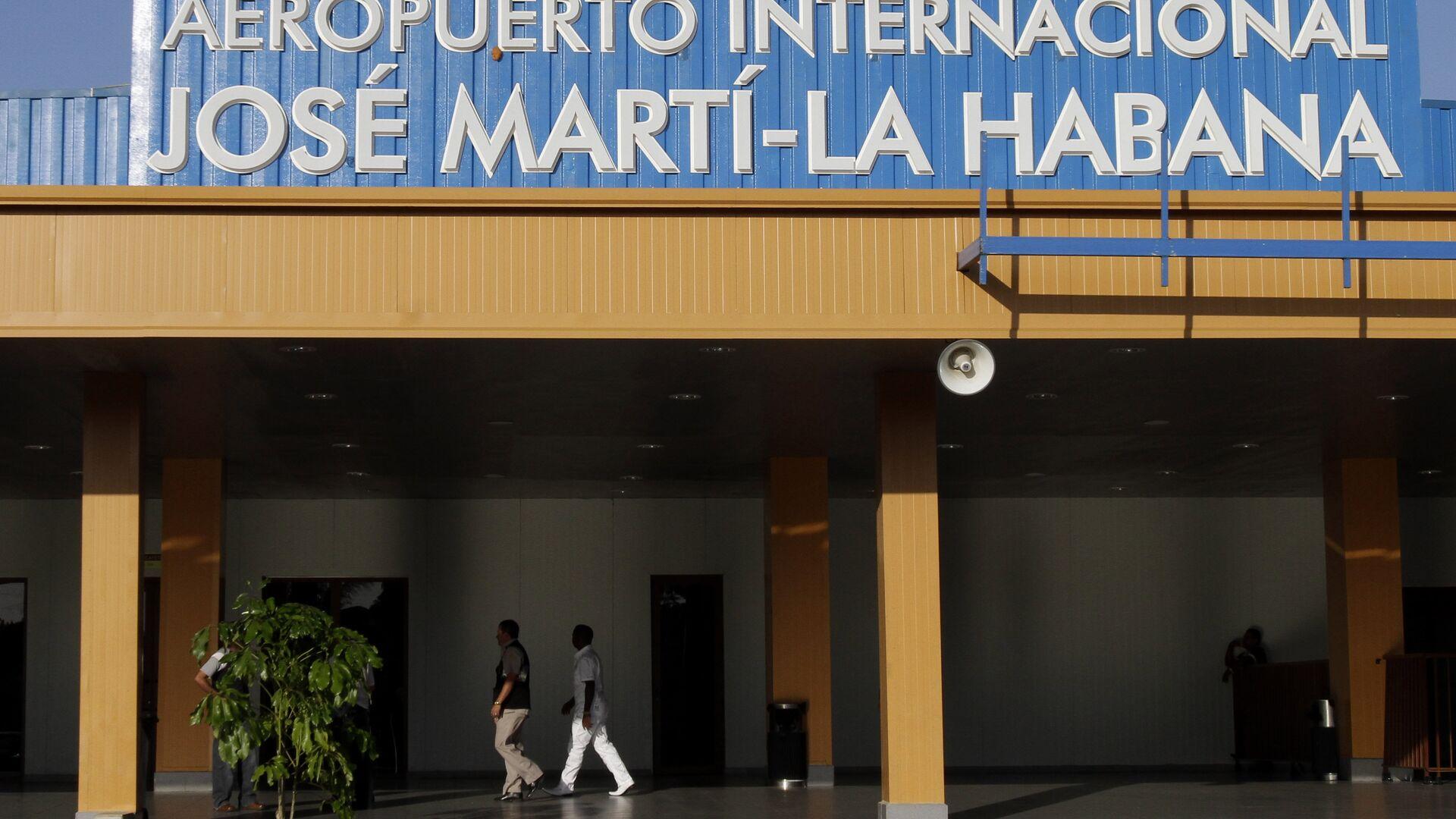 Aeropuerto Internacional José Martí de La Habana - Sputnik Mundo, 1920, 14.07.2021