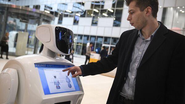 El robot Promobot en acción - Sputnik Mundo