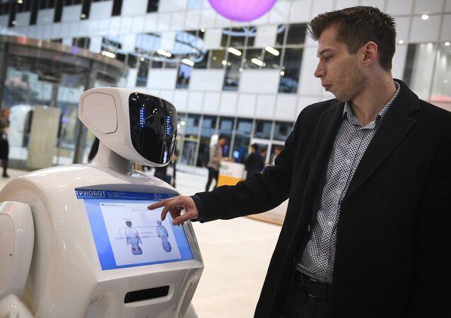 Un robot en acción
