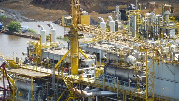 Una plataforma petrolífera de PDVSA en la Faja del Orinoco - Sputnik Mundo