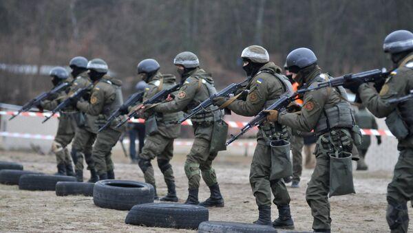 Soldados ucranianos, entrenamiento de la OTAN - Sputnik Mundo
