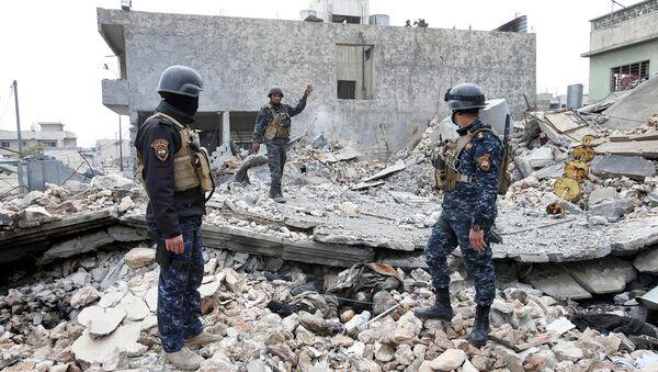 La policía iraquí - Sputnik Mundo