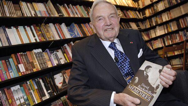 David Rockefeller, banquero y filántropo - Sputnik Mundo