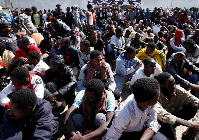 Los migrantes en Europa (archivo)