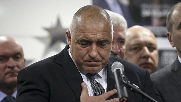 Former Bulgarian prime minister and leader of centre-right GERB party Boiko Borisov - Sputnik Mundo